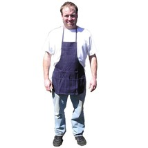 Blue Denim 3 Pocket Bib Apron - $12.36