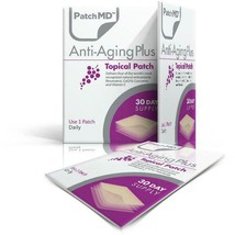 PatchMD Anti-Aging Plus Topical Patch (30 Day Supply) New Powerful Antio... - $14.14