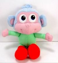 Fisher Price Dora The Explorer Baby Boots The Monkey Stuffed Plush w/ Se... - $10.88