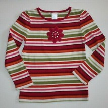 Gymboree Butterfly Girl Stripe Tee Top Shirt size 5 - $8.99