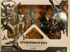 """Overwatch Ultimates Series Hanzo and Genji 2 Pack 6"""" Collectible Action ... - $38.21"""