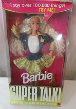 1994 Barbie Super Talk Doll #122290 New Sealed NRFB - $24.74