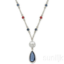 Washington Capitals Crystal Logo Necklace - €17,73 EUR
