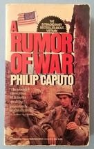 A Rumor of War by Philip Caputo (1987, Paperback Book) - $3.95