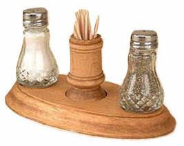 Primary image for Toothpick Holder, Salt Pepper w/Stand