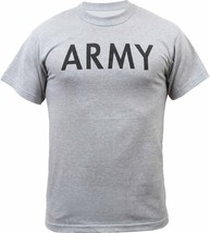 Grey Army Physical Training PT Workout T-Shirt - $9.99+