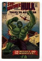 Tales To Astonish #85 Comic Book -SUB-MARINER/HULK-MARVEL 12 Cent - $22.70