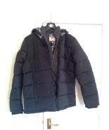 Lee Cooper 2 Zip Bubble Jacket / Mens - Sizes: M / L - Colour : Black - $33.50