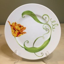 Westbury Court LYRICAL BLOOMS Parrot Tulip Dinner Plate 10 1/4 - $14.84