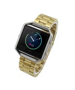 Stainless Steel Wristband for Fitbit Blaze - Gold - $21.21