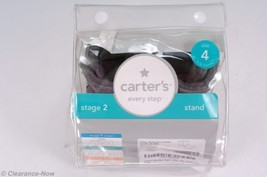 Carter's Boots sz 4 / 9-12 Month Cute Gray Easy-on Stage 2 Stand New in ... - £7.63 GBP
