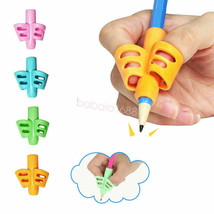 Two Finger Grip Silicone Baby Learning Tool Writing Correction Device Pe... - $4.95+