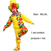 TPDT* ZA 010 Halloween Costumes Kids Children Funny Clown Costume Naught... - £33.99 GBP
