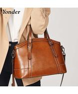 YONDER Fashion luxury  handbag for women. Genuine leather, shoulder bags... - $94.99+