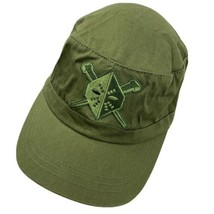 Green Unknown Logo Adjustable Adult Ball Cap Hat - $12.86
