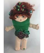 Vintage RARE QVC Shareable Doll Megan Magic W/Green Heart Shape Backpack - $14.03