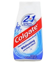 Colgate 2-in-1 Whitening Toothpaste and Mouthwash, 4.6-oz. Tubes.2pack - $6.00