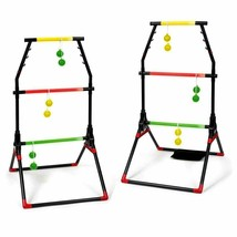 Light-Up Ladder Ball Portable Outdoor Toss Game Set Play Sports Tailgate... - $33.75