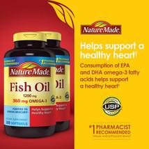 Nature Made Fish Oil 2400mg, Omega Fatty Acids 720mg, 400 Softgels Frees... - $25.05