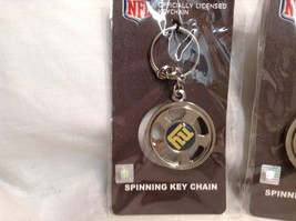 NEW NFL NY Giants Set of 5 Key Chains image 2