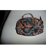 Vera Bradley small cosmetic with carry handles in retired Kensington - $14.00