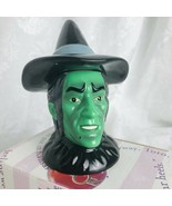 The Wizard of Oz Wicked Witch Ceramic Salt-Pepper Shakers Set Enesco 4.5... - $29.68