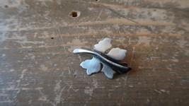 """Vintage ORL Sterling Silver Leaf Brooch 1.25"""" - $29.69"""