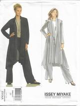 Vogue 1022 Issey Miyake Pattern Waterfall Jacket & Pants Choose Size Uncut - $19.99