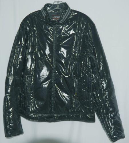 Escapism 6AA06 100 Percent Polyester Mens Jacket Color Black Size XL