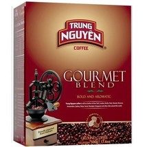 4 BOXES - TRUNG NGUYEN Gourmet Coffee 17.6 oz ground each box - $39.95