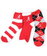 Alabama Crimson Tide 3 Piece Fuzzy Sock Bundle - $27.95