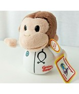 Universal Studios CURIOUS GEORGE Doctor Monkey Plush Stethoscope Stuffed... - $15.99