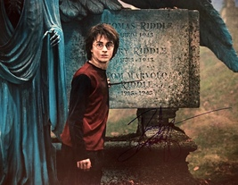 DANIEL RADCLIFFE Autographed Hand SIGNED 11x14 HARRY POTTER PHOTO w/COA ... - $139.99