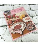 McCalls Create Flower Patch Crochet Designs Fabric Craft Pattern Book VT... - $9.89
