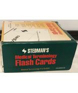 Stedman's Medical Terminology Flash Cards Educational - $24.70