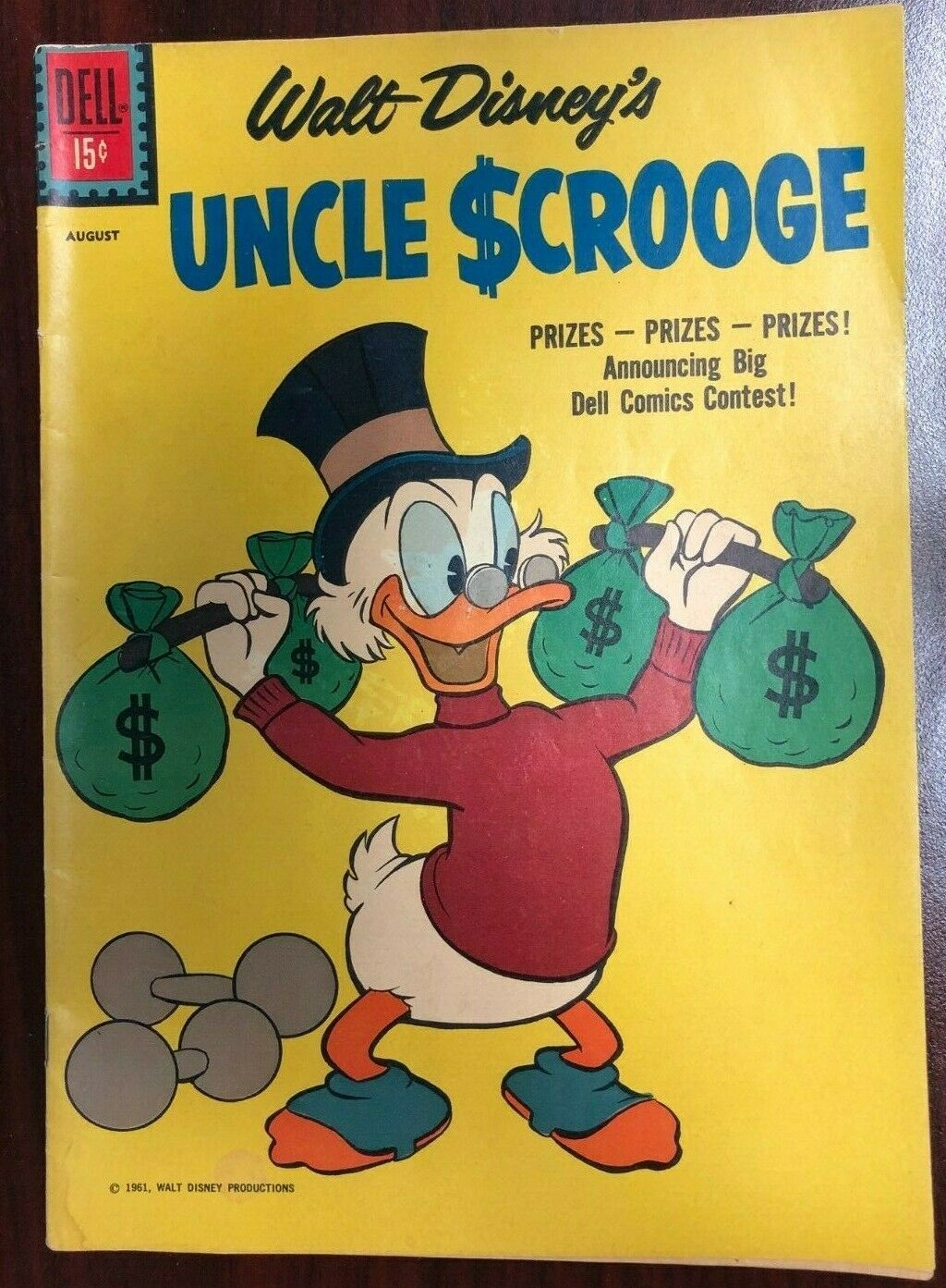UNCLE SCROOGE #34 (1961) Dell Comics VG+