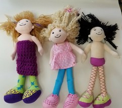 Groovy Girls dolls Ty beanie kids Kelsey Siri Tomiko soft plush - $19.98