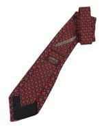 "NEW J.Z. RICHARDS Silk Men's Tie Red 60"" Designer Tie - $6.95"