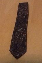 Editions By Van Heusen Classic Design NECKTIE Tie NAVY Classy - $4.95