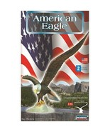 """Lindberg American Eagle Model Kit Unassembled 1/6 12"""" wide - $11.99"""