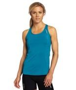 2XU Women's Performance Run Singlet, Azure Blue/Azure Blue, X-Large - $28.70