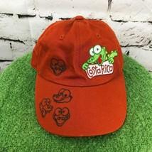 Costa Rica Boys One Sz Hat Brown Copper Lizard Strapback Baseball Cap - $14.84