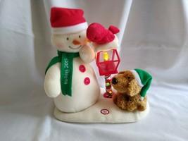 2013 Hallmark Jingle Pals Merry Carolers Trio Snowman Dog Bird Plush - $24.75