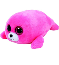 TY Beanie Boos 37085 Pierre The Seal Medium Pink New with Tags - $15.14