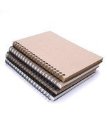 Spiral Coil Sketchbook Diary Student Notebook Memo Pad Sketch Book Schoo... - $7.49