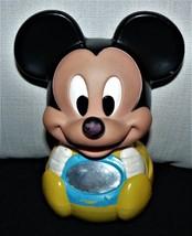 vintage Mickey Mouse floor baby rattle rollie pollie floor rattle - $14.35