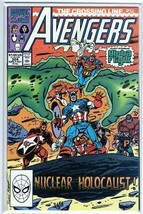 The Avengers #324 Copper Age Marvel Comic Captain America! Vision! Sersi!  - $2.39