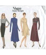 Vogue Basic Design Sewing Dress Pattern #1900 - $14.80