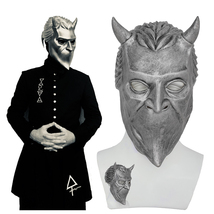 Ghost B.C Rock Roll Band Cosplay Mask Nameless Ghoul Costume Props Helme... - $42.13 CAD