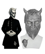 Ghost B.C Rock Roll Band Cosplay Mask Nameless Ghoul Costume Props Helme... - $32.00